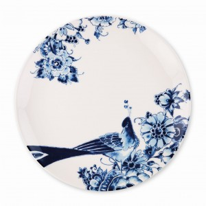 Peacock Dinner Plate Coupe