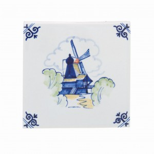 Windmill 2 Polychrome (handpainted)