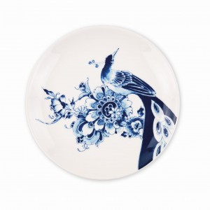 Peacock Dessert Plate Coupe