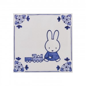 Tile Miffy (handpainted)