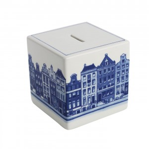 Money Box Cube Canal Houses